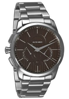Price:$453.56 #watches Azzaro AZ2060.13HM.000, Azzaro watches are designed in the purest Swiss Watch-making tradition with a blend of charm and seduction. The watches recapture the spirit of Loris Azzaro, for whom audacity had to go hand in hand with precision.