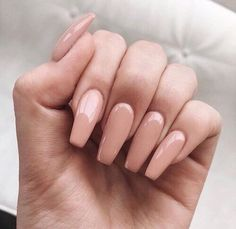 Imagem de nails, Nude, and beauty