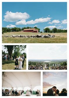 Stunning views came through for this couple's #bigday at the Fruitlands Museum, catered by Fireside Catering. #tentwedding #historicvenue #harvardma #newenglandwedding