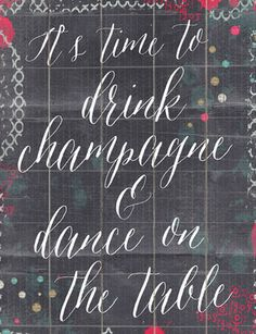 Dance On The Table Wall Art
