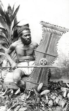1930s Philippines - Mountain Moro Warrior. S)
