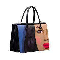 Prada Black Printed Tote Bag - Spring 2014