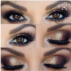 #shimmery #smokeyeye #glitter #makeup #makeupeye #makeuphowto #makeupguide #makeuplove #makeuplover by backtomakeupbasics