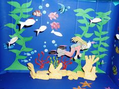 3-D Ocean Diorama with Diver http://www.tragicsandwich.com/homework-in-day-care/