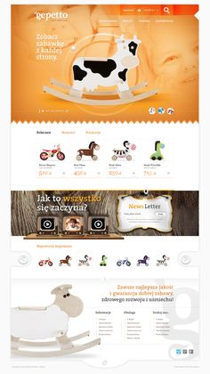 Gepetto. Toys with Soul by Marek Dąbrowski, via Behance