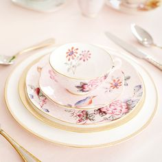 The 'Vintage Chic' collection by Abby Larson of @Style Me Pretty  for @NewlyWish Registry Re-Patterned #wedding #registry #style