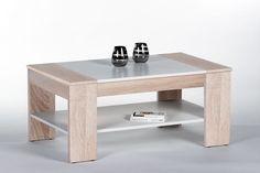 Couchtisch 100 X 58 Cm Sonoma Eiche/ Weiss Woody 178-00016 Holz Modern Jetzt bestellen unter: https://moebel.ladendirekt.de/wohnzimmer/tische/couchtische/?uid=47d3f4a8-f9b4-5d31-923a-1c27248d3ac5&utm_source=pinterest&utm_medium=pin&utm_campaign=boards #wohnzimmer #couchtische #tische