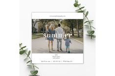 Summer Session Photography Template by Wild Honey Design Co. Photography Flyer, Photography Templates, Photography Marketing, Wedding Card Templates, Mini Sessions, Photoshop Elements, Flyer Template, Wild Honey, Graphic Design