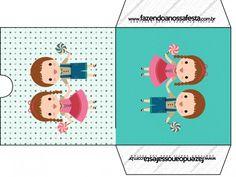 Envelope CD DVD João e Maria Azul Tiffany: