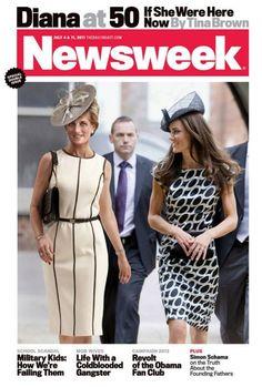 July 2011 Princess Diana - Newsweek magazine cover