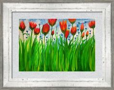 Woman Framed Print featuring the painting Field Flowers by Stephanie Zelaya