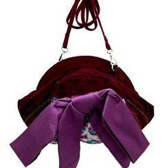 Abigals Party Irregular Choice Abigails Party Purple Clutch Bag With Detachable Shoulder Strap
