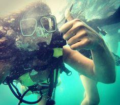 I made it  #challengeyourself #diving #greatbarrierreef #australia by nadine87a http://ift.tt/1UokkV2