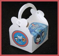 octonauts party favor box octonauts shower favor by tinygiftboxes, $1.35