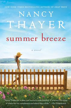 Summer Breeze, by Nancy Thayer. I got home from the library and realized I had two books with seasons in their titles. I like that Nancy Thayer sets her books on water and I appreciated a couple of the storylines going on in this one. But aspects of it required me to suspend disbelief - I think a really good book doesn't remind you that you're doing so.