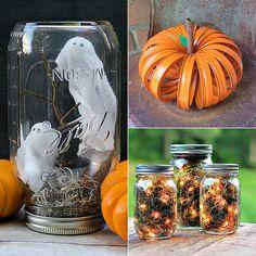 Mason Jar Halloween DIY Projects | POPSUGAR Home