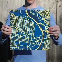 Drexel University | City Prints Map Art
