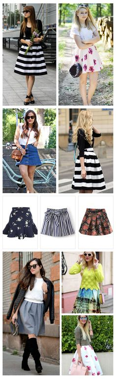 Cute A line Skirt, Street Styles, 40% Off 1st Order