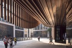 The London based studio recently paired up with Heatherwick Studio, a team of 200 designers, architects and makers founded in 1994 by Thomas Heatherwick, to design the new cultural center Fosun Foundation in Shanghai.