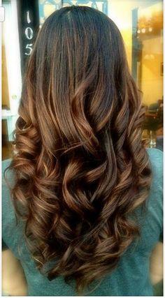 love her hair! Big curls