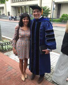 Julia RM Ruiz - #GeorgeWashingtonUniversity.#2016DoctoralHoodingCeremony.#CharlesSmithCenter.