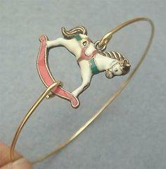 Horse Bangle Bracelet