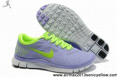 Buy Latest Listing 511527-519 Nike Free 4.0 V2 Purple Fluorescence Green Womens Newest Now