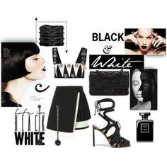 BLACK & white.....