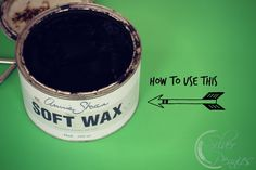 How to use Annie Sloan Dark Wax - my tips #chalkpaint #waxing