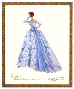 Robert Best Barbie illustrations | Provencale Limited Edition Barbie Print by Robert Best. Signed and ...