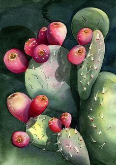 Prickly Pear Cactus ~ Amy Hautman