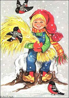 Kristina Norwegian Christmas, Disney Characters, Fictional Characters, Christmas Cards, Images, Bird, Disney Princess, Animals, Ph