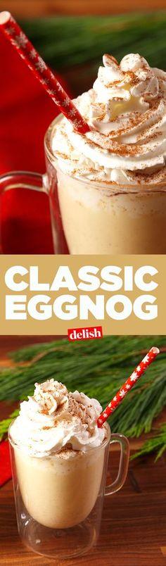Classic Eggnog Recip...