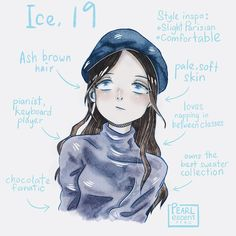 Brown Hair Pale Skin, Ash Brown Hair, Love Keyboard, Boboiboy Anime, Boboiboy Galaxy, Cool Sweaters, Have Time, Hero, Fan Art