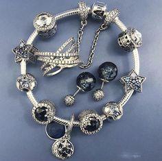 50 Best Ideas For Jewerly Box Pandora Style Pandora Bracelet Charms, Pandora Jewelry, Charm Jewelry, Jewelry Art, Charm Bracelets, Jewellery, Fashion Jewelry, Pandora Collection, Bracelet Designs