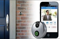 Just like missing a call, missing a visit can change the outcome of your day. There is iDoorCam WiFi, a sleek gizmo that allows users to see and speak to the person who's ringing their front doorbell, no matter where they are located. By installing an application on iOS and Android devices, home owners can conveniently keep track of their visitors.