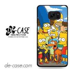Simpsons Family DEAL-9622 Samsung Phonecase Cover For Samsung Galaxy Note 7