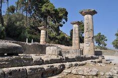 Olympics - Temple of Hera - where the Olympic flame is lit