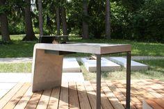Griller  - Concreto Outdoor Furniture, Outdoor Decor, Concrete, Design, Home Decor, Products, Table, Decoration Home, Room Decor
