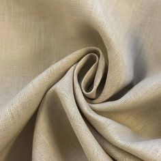 """Upholstery Weight Heavy Natural Twill Wave 100/%Linen 58/""""Designer Curtain Fabric"""