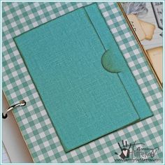Trifold Pocket Page Steel Rule Die | Tammy Tutterow Spellbinders | www.tammytutterow.com