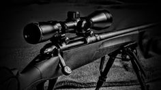 Remington rifle 783 flash photography
