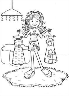 Groovy Girls Mlarbilder fr barn Teckningar online till skriv ut