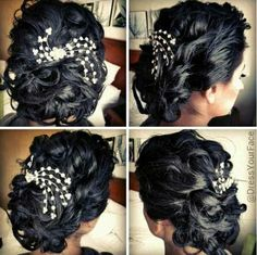 Cute up-do