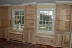 livingroom with builtins | Hand Made Bedroom Built Ins by John Samuel Custom Cabinetry ...