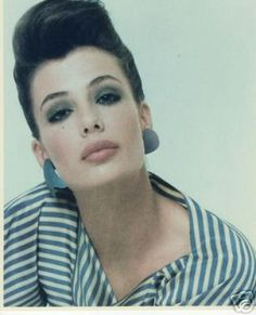 And we thought Angelina had big lips? I wanted to be Kelly Lebrock back then...so beautiful