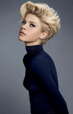 Love the volume and style of the cut. It's gorgeous. If only I were brave enough to go short.
