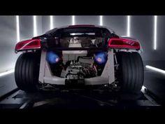 The new Audi R8 V10: TV CM (アウディ R8) - YouTube