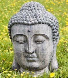 Stunning Large Spiritual Buddha Head Garden Statue Ornament 80cm High |  Gardens, Garden Statues And Ornaments