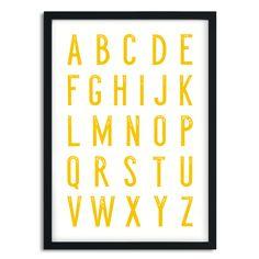 Poster Alfabet A5/A4/A3